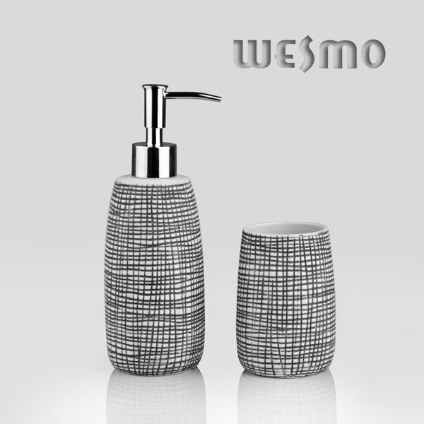 Porcelain Bath Set Wbc0644b Wesmo