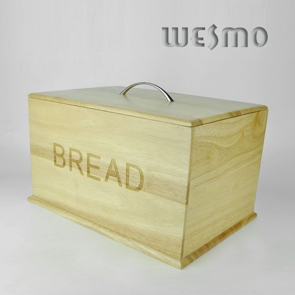 bread storage container bamboo bread bin which is safe for food model ...